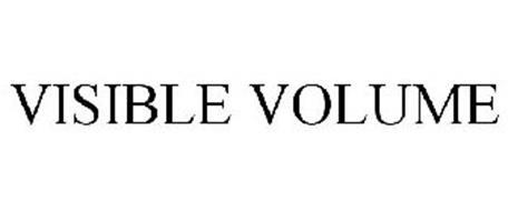 VISIBLE VOLUME