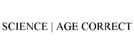 SCIENCE  AGE CORRECT