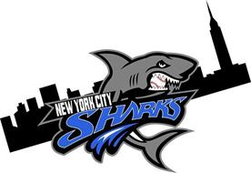 NEW YORK CITY SHARKS Trademark of NYC Sharks Baseball LLC ...