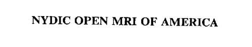 NYDIC OPEN MRI OF AMERICA