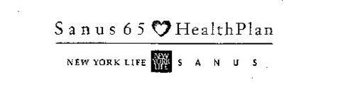 SANUS 65 HEALTHPLAN NEW YORK LIFE NEW YORK LIFE SANUS
