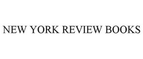 NEW YORK REVIEW BOOKS