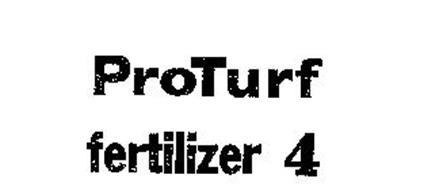 PROTURF FERTILIZER 4