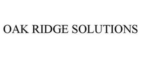 OAK RIDGE SOLUTIONS