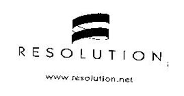 RESOLUTION WWW.RESOLUTION.NET