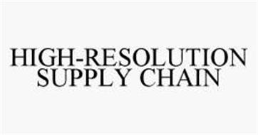 HIGH-RESOLUTION SUPPLY CHAIN
