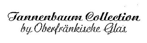 TANNENBAUM COLLECTION BY OBERFRANKISCHE GLAS