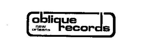 OBLIQUE RECORDS NEW ORLEANS