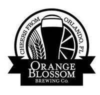 ORANGE BLOSSOM BREWING CO. CHEERS FROM ORLANDO, FL