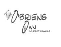O'BRIENS OWN GOURMET GRANOLA MADE IN IOWA