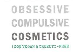 OBSESSIVE COMPULSIVE COSMETICS 100% VEGAN & CRUELTY- FREE