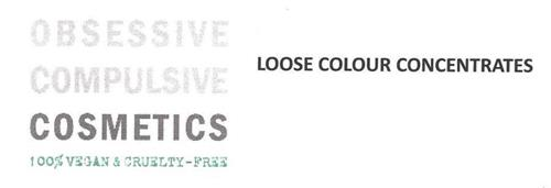 OBSESSIVE COMPULSIVE COSMETICS, 100% VEGAN & CRUELTY-FREE, LOOSE COLOUR CONCENTRATES