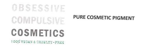 OBSESSIVE COMPULSIVE COSMETICS 100% VEGAN & CRUELTY-FREE PURE COSMETIC PIGMENTS