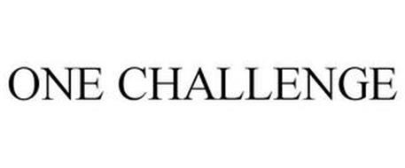 ONE CHALLENGE