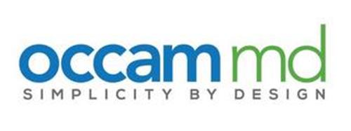 OCCAM MD SIMPLICITY BY DESIGN