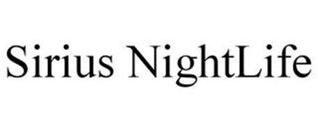 SIRIUS NIGHTLIFE