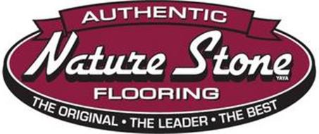 AUTHENTIC NATURE STONE FLOORING THE ORIGINAL · THE LEADER · THE BEST