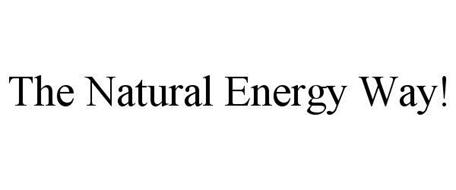 THE NATURAL ENERGY WAY!