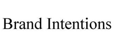 BRAND INTENTIONS