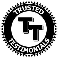 TT TRUSTED TESTIMONIALS
