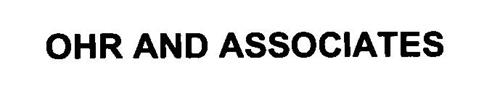 OHR AND ASSOCIATES