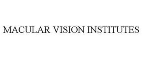 MACULAR VISION INSTITUTES