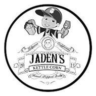 JADEN'S KETTLE CORN 20 15 HAND POPPED DAILY MILPITAS CALIFORNIA