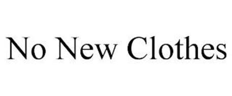 NO NEW CLOTHES