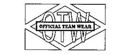 OTW OFFICIAL TEAM WEAR