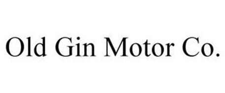 OLD GIN MOTOR CO.