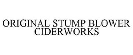 ORIGINAL STUMP BLOWER CIDERWORKS