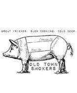 GREAT FRIENDS. SLOW COOKING. COLD BEER.  ALFRED ST. COLUMBUS ST. CAMERON ST. KING ST. WASHINGTON ST. OLD TOWN SMOKERS