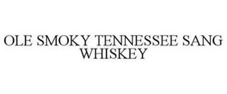 OLE SMOKY TENNESSEE SANG WHISKEY