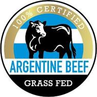 100% CERTIFIED ARGENTINE BEEF GRASS FED