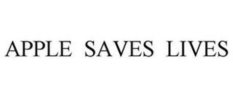 APPLE SAVES LIVES