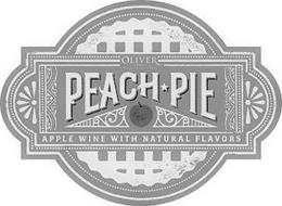 OLIVER WINERY & VINEYARDS PEACH PIE APPLE WINE WITH NATURAL FLAVORS