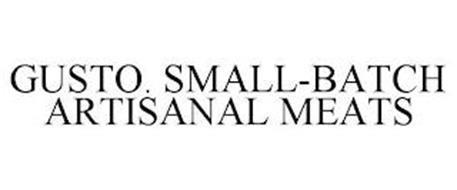 GUSTO. SMALL-BATCH ARTISANAL MEATS