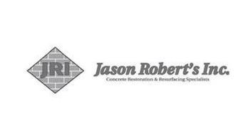 JRI JASON ROBERT'S INC. CONCRETE RESTORATION & RESURFACING SPECIALISTS