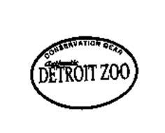 CONSERVATION GEAR AUTHENTIC DETROIT ZOO