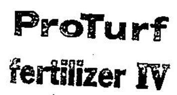 PROTURF FERTILIZER IV