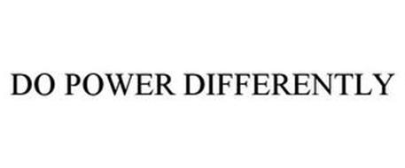 DO POWER DIFFERENTLY