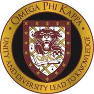 OMEGA PHI KAPPA UNITY AND DIVERSITY LEAD TO KNOWLEDGE
