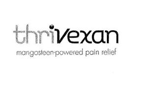 THRIVEXAN MANGOSTEEN-POWERED PAIN RELIEF