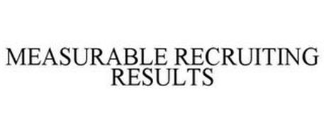 MEASURABLE RECRUITING RESULTS