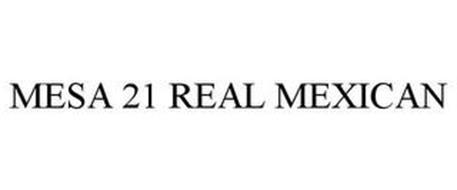 MESA 21 REAL MEXICAN
