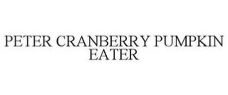 PETER CRANBERRY PUMPKIN EATER