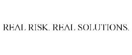 REAL RISK. REAL SOLUTIONS.