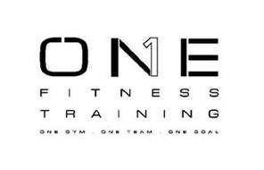 ONE FITNESS TRAINING ONE GYM ONE TEAM ONE GOAL 1