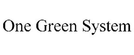 ONE GREEN SYSTEM