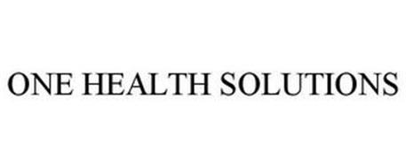 ONE HEALTH SOLUTIONS